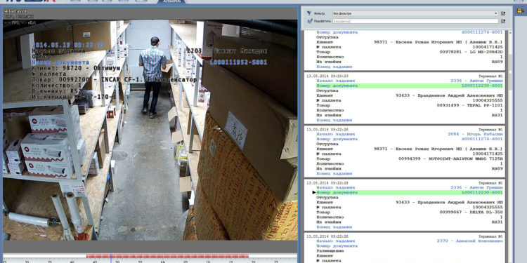 Контроль складских операций
